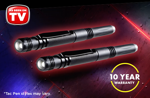 Tac Pen™ - 10 Year Warranty